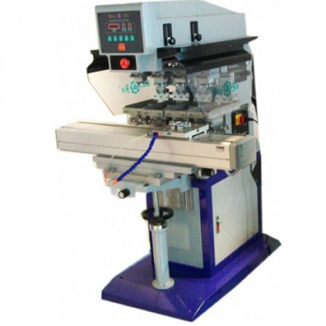 4 COLOR PNEUMATIC TAMPOGRAPHY MACHINE