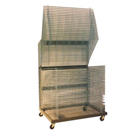 DRYER ON WHEELS 50 SHELVES 80x110 CM