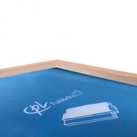 Stretched and Exposed screens printing frames