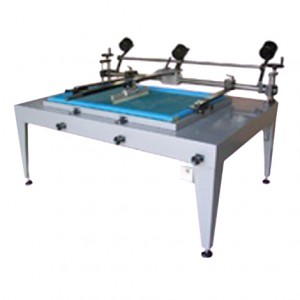 Manual Screen Printing MOD. LIBO 70x100 CM WITH GUIDED SQUEEGEES AND SUCTION TABLE