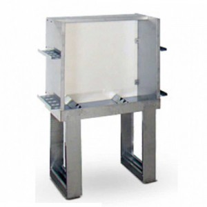 STAINLESS STEEL WASHING TANK WITH BACKLIT VIEWER