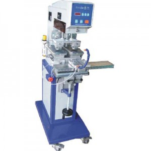 PNEUMATIC 2-COLOR TAMPOGRAPHY MACHINE