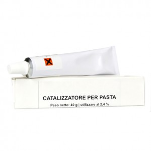 CATALYST FOR MOLDABLE PASTE 40 GR (PRICE FOR PACK)