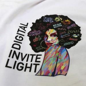 vinile stampa e taglio digital invite light