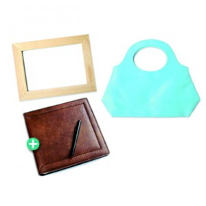 LASER TRANSFER - NATURAL LEATHER AND WOOD - 10 A4 SHEETS (PRICE PER PACK)