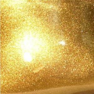 Gold screen printing powder