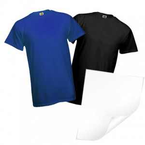 LASER TRANSFER - TRANSPARENT PROTECTIVE FOR COLORED FABRICS - 5 SHEETS A3 (PRICE FOR PACK)