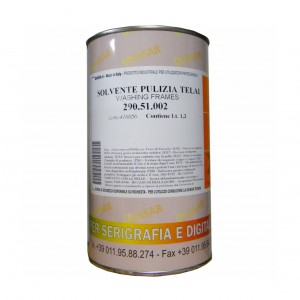 FRAME CLEANING SOLVENT 51 25 LT (PRICE FOR PACK)