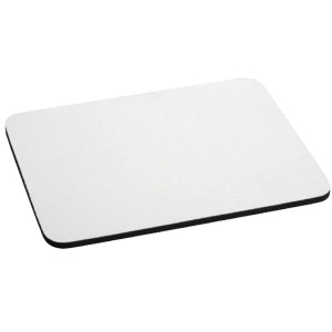 WHITE MOUSE PAD 4 MM THICK. PACK OF 30 PIECES (PRICE FOR PACK)