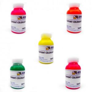Texprint Fluo Colourings, 100g pots