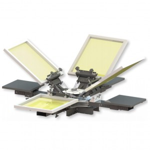 Manual Press VASTEX V-100 4 TABLES 4 COLORS