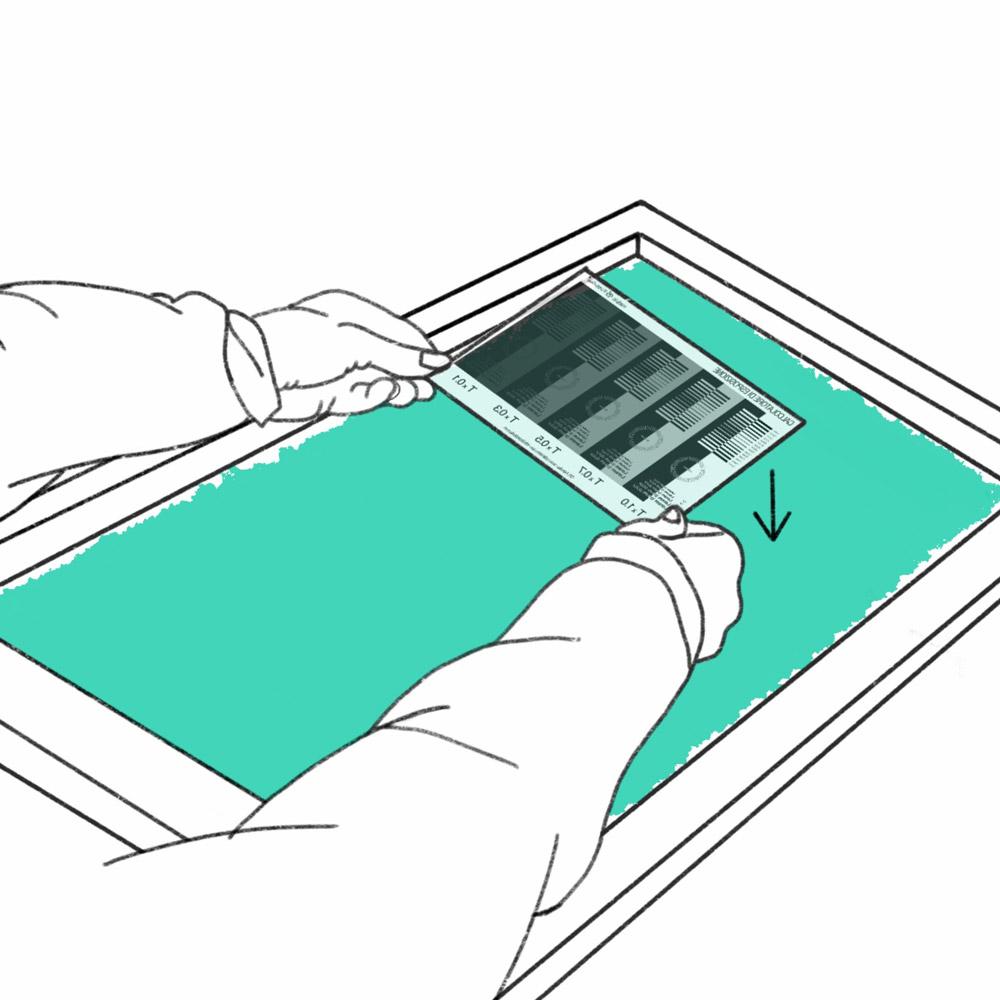 screen printing exposure calculator emulsions